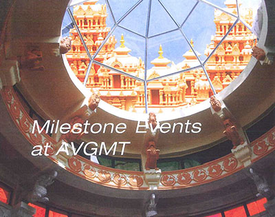 Milestone Events at AVGMT